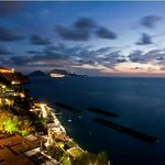 Tramonto vista su Capri