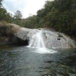 Cachoeira próxima