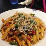 Santa Fe Chipotle Pasta-brings the heat!