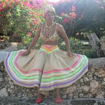 Dominicaine costumée