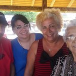 My mother sisters at Mi Casita Seafood.