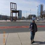UN Org building- view from UN HQ