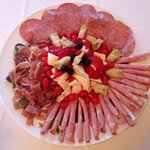 "Meats and cheeses platter ""antipasto"""