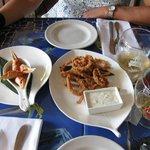 Muelas de cangrejo y rabas