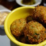 fish cakes appetizer