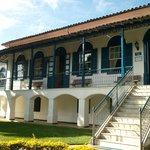 Facade of `casa do senhor`