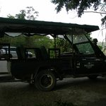 Cool old Range Rover for getting around