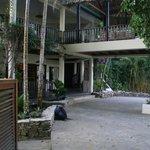 Lodge entryway