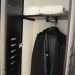 Decent Closet with Safe