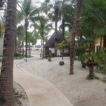 mahekal - walkway to the beach