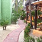 mahekal - garden palapas lodging
