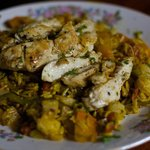 Pineapple Stir Fry Rice with Chicken