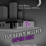 We have open mic every Tuesday!