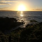 Sunset from the Wailea Walking path