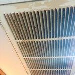 Heat vent in room- yuck