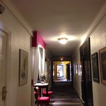 Art in corridor