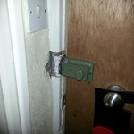 Door lock on room 315