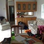 1BR Casita Livingroom ~ View from Kitchen