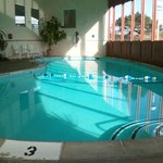 3 foot to 9 foot pool. Notice how clean...