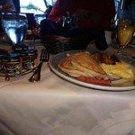 un rico y casero desayuno