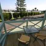 Views from our Spa villa veranda's