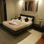 Honeymoon setup in villa 15