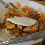 Lots of sweet potatoes, not very hash-like tho.