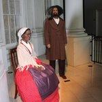 Mr. Douglas & Ms. Truth, Lincoln Museum, Springfield, IL