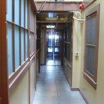 Ethereal hallway
