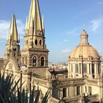 Vista terraza catedral