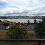 Our view of Lake Rotorua