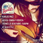 Karlos Paez B Side Players at Baja Style Restaurant
