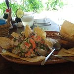 Ceviche for lunch...highly recommended!!