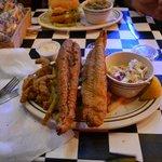 Shrimp and Catfish Combo Dinner