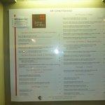 Bistro Caribe's menu
