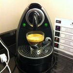 The espresso machine maker.