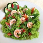 Thai Green Bean Salad with Shrimp