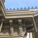 Details of some of the intricate woodwork at David Davis Mansion