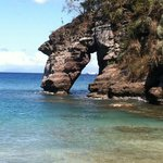 Rock arch at Secret Beach
