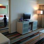 Harris Suite: Family Room & Bed Room