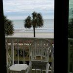 Beach from Master Rm Balcony