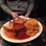 Chicken & fish rice