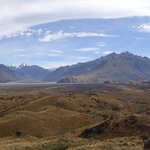 Looking out from Edoras/Mt Sunday