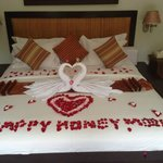 Our Honeymoon Bed