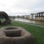 Start of Bude Canal Walk