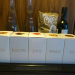 Super-trendy (and very expensive) mini bar items