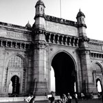 Gateway to India just over the road