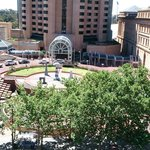 Plaza directly opposite