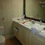 Actual bathroom
