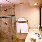 What their brochure shows as their bathroom